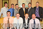 Having a great time at The Asdee GAA Victory Social held in Kirby's Lantern Hotel on Friday night were seated l-r John Doran, Noel Long Eoin Kennedy and Sean Carr, standing l/r David Duddle, James Kelly, Darragh O'Sullivan, Padraig Valley, Conor Coughlan and Michael Walsh..................................................................................................................................................................... ............