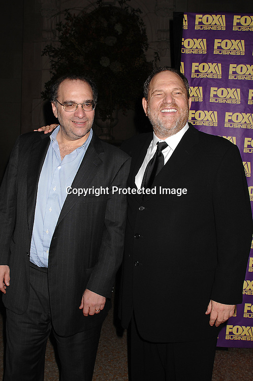 Bob Weinstein and Harvey Weinstein..at The Fox Business Network's launch Party on October 24, 2007 at The Metropolitan Museum of Art's Temple of Dendur in New York. ..Robin Platzer, Twin Images..212-935-0770