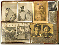 BNPS.co.uk (01202 558833)<br /> Pic: Bosleys/BNPS<br /> <br /> Trooper Casey's photo album - First SAS snapshots including David Stirling, Paddy Mayne, Casey himself and a parade in Norway.<br /> <br /> Sold for £25,000 - An extraordinary wartime archive that lift's the veil on the earliest days of the SAS during WW2.<br /> <br /> The late Fred Casey was among the original dozen members of the 1st Special Air Service that was formed in North Africa to wreak havoc behind enemy lines.<br /> <br /> The commando's military possessions included a remarkable album containing previously unseen images of the founding members of the elite force.<br /> <br /> Legendary Captain David Stirling, who formed the 'Who Dares Wins' regiment, and hand-picked the men under his command, is pictured along with his controversial deputy Paddy Mayne , who took over the top secret regiment after Stirling's capture.<br /> <br /> The album sold at Bosley's Auctioneers of Marlow, Bucks, last week for over five times its pre-sale estimate..