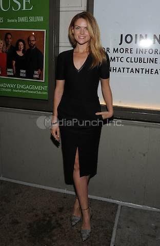 New York, NY- October 2:  Erin Richards attends the opening night for the play The Country House at the Samuel J. Friedman Theater in New York City .  Credit: John Palmer/MediaPunch