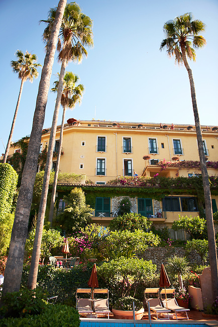 Grounds of the Hotel Belvedere - Taormina, Sicily