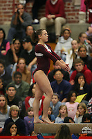 17 February 2006: Kelly Fee during Stanford's win over the University of Arizona at Burnham Pavilion in Stanford, CA.