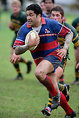 R Afoa Peterson . Counties Manukau Premier Club Rugby, Pukekohe v Ardmore Marist played at the Colin Lawrie field, on the 27th of May 2006.Ardmore Marist won 22 - 6