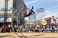 Nederland Rotterdam 2017. Rotterdam Circusstad. Röhnrad.  Foto Berlinda van Dam / Hollandse Hoogte