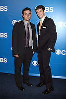 David Krumholtz and Michael Urie at the 2012 CBS Upfront at The Tent at Lincoln Center on May 16, 2012 in New York City. © RW/MediaPunch Inc.