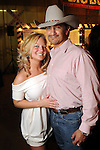 Audrey Archer and J.L.Trahan at the Cattle Baron's Ball at the George Ranch Saturday April 24,2010.. (Dave Rossman Photo)