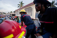 Firefighters of Port-au-Prince