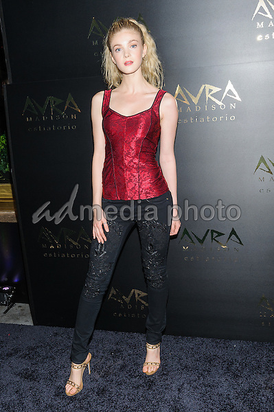 08 September 2016 - New York, New York- Elena Kampouris. Avra Madison Grand Opening Party on Thursday, September 8, 2016. Photo Credit: Mario Santoro/AdMedia