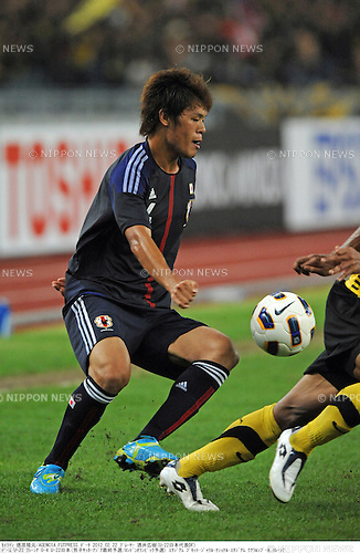 Hiroki Sakai (JPN),.FEBRUARY 22, 2012 - Football / Soccer :.2012 London Olympics Asian Qualifiers Final Round Group C match between U-23 Malaysia 0-4 U-23 Japan at National Stadium Bukit Jalil in Kuala Lumpur, Malaysia. (Photo by Takamoto Tokuhara/AFLO)
