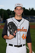 July 14th 2008:  Pitcher Rich Zagone of the Aberdeen Ironbirds, Class-A affiliate of the Baltimore Orioles, during a game at Dwyer Stadium in Batavia, NY.  Photo by:  Mike Janes/Four Seam Images