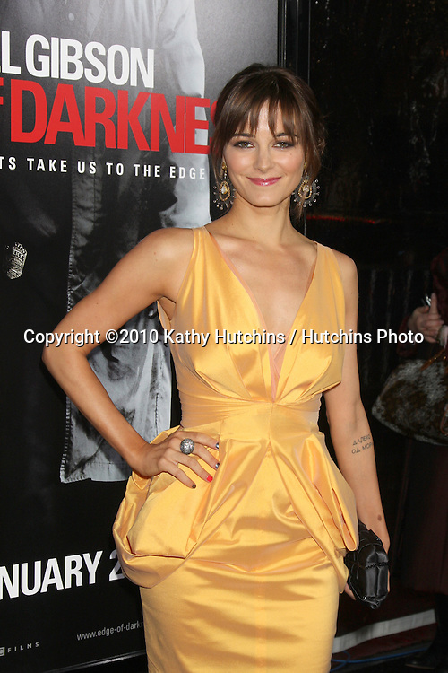 """Bojana Novakovic.arriving at the premiere of the """"Edge of Darkness"""".Grauman's Chinese Theater.Los Angeles, CA.January 26, 2010.©2010 Kathy Hutchins / Hutchins Photo...."""