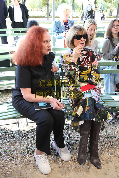 ANNA WINTOUR at NINA RICCI<br /> Spring/Summer 2018 Ready-to-Wear Fashion Show at Paris Fashion Week in Paris, France in September 2017.<br /> CAP/GOL<br /> &copy;GOL/Capital Pictures