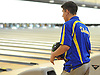 Alex Cruz of Kellenberg gets ready to bowl during his second game of a CHSAA boys bowling match against St. Anthony's at AMF Garden City Lanes on Monday, Jan. 9, 2017. He bowled a 246 in the game.