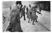 Montreal en hiver, annee 70<br /> (date exacte inconnue)<br /> <br /> PHOTO : Alain Renaud - Agence Quebec Presse<br /> <br /> Les images commandees seront recadrees lorsque requis