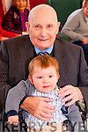 95th Birthday : Michael O'Sullivan, Listowel celebrating his 95th birthday with his 10 month old great grandson at Oaklands Nursing Home , Derry, Listowel on Sunday last.