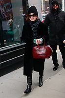 NEW YORK, NY - MARCH 7: Isabelle Huppert  at BUILD SERIES on March 7, 2019 in New York City. <br /> CAP/MPI99<br /> &copy;MPI99/Capital Pictures