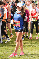 Karen Danczuk<br /> at the start of the 2016 London Marathon, Blackheath, Greenwich London<br /> <br /> <br /> &copy;Ash Knotek  D3108 24/04/2016