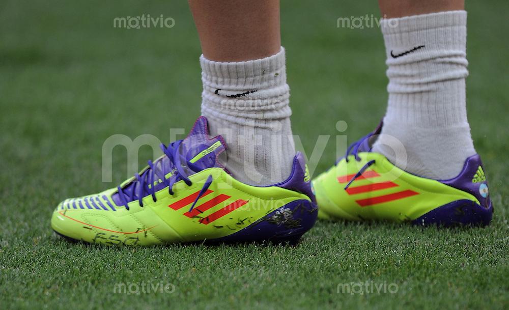 Fussball Champions League Finale 2011: F 50 Adidas Schuh