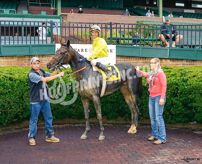 Wait N C Spring winning at Delaware Park on 9/19/16