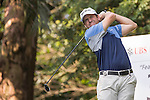 Jason Knutzon of USA tees off hole number 3 during the 58th UBS Hong Kong Open as part of the European Tour on 08 December 2016, at the Hong Kong Golf Club, Fanling, Hong Kong, China. Photo by Vivek Prakash / Power Sport Images