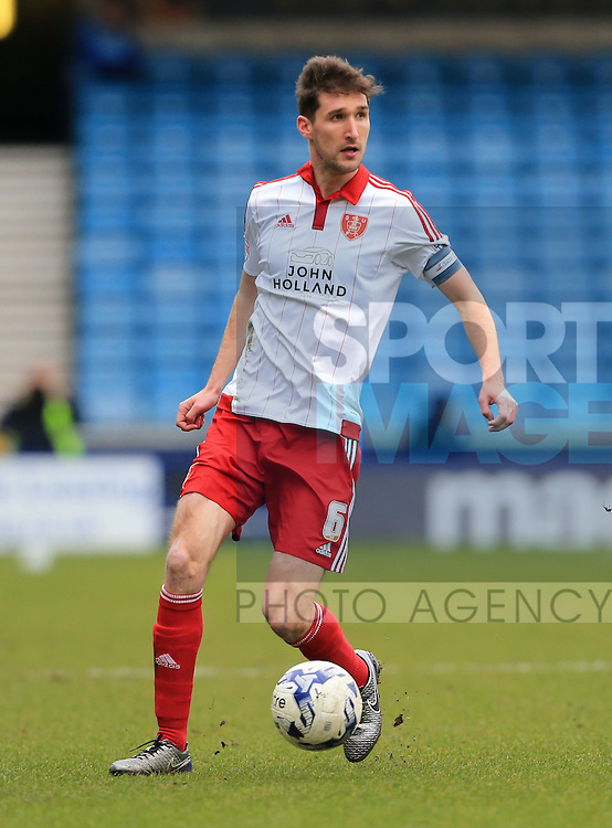 Sheffield United's Chris Basham in action during the League One match at The Den.  Photo credit should read: David Klein/Sportimage