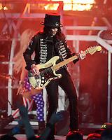 ALBUQUERQUE NM - AUGUST 7:  Mick Mars of Motley Crue performs at the Hard Rock Casino Albuquerque on August 7, 2012 in Albuquerque, New Mexico. Credit: MediaPunch Inc.