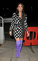 Olivia Buckland at the Mark Hill haircare brand launch party, MV Hispaniola, Victoria Embankment, London, England, UK, on Wednesday 07 March 2018.<br /> CAP/CAN<br /> &copy;CAN/Capital Pictures