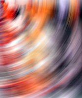 Spinning colors abstract.