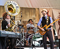 Tao Seeger Brass Band at Voodoo Fest 2011 in New Orleans, LA.