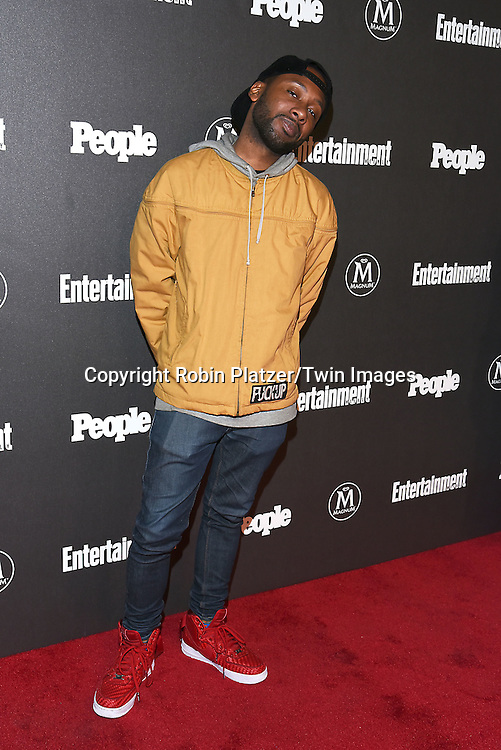 Jordan Rock attends the Entertainment Weekly &amp; PEOPLE Magazine New York Upfronts Celebration on May 16, 2016 at Cedar Lake in New York, New York, USA.<br /> <br /> photo by Robin Platzer/Twin Images<br />  <br /> phone number 212-935-0770