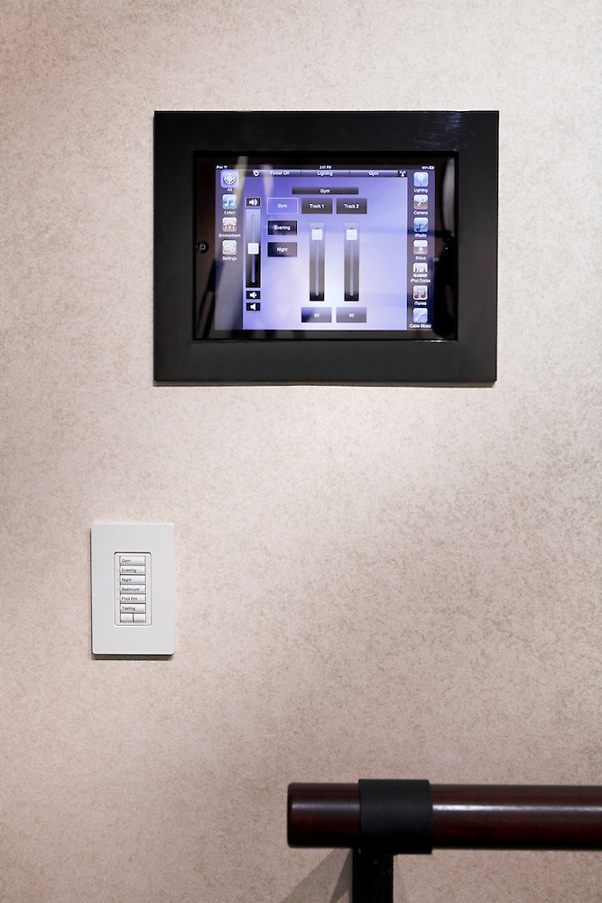 Savant Gym iPad Control