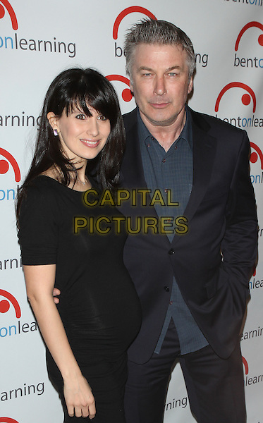 NEW YORK - MARCH 10: Hilaria Baldwin and Alec Baldwin at 6th Annual Bent On Learning Inspire! Gala at Capitale in New York City on March 10, 2015. <br /> CAP/MPI/MPI99<br /> &copy;MPI99/MPI/Capital Pictures