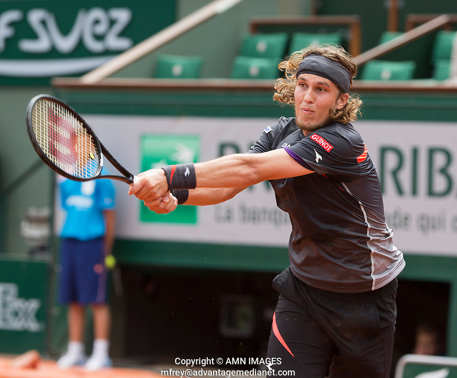LUKAS LACKO (SVK)<br /> <br /> Tennis - French Open 2014 -  Toland Garros - Paris -  ATP-WTA - ITF - 2014  - France -  25 May 2014. <br /> <br /> &copy; AMN IMAGES