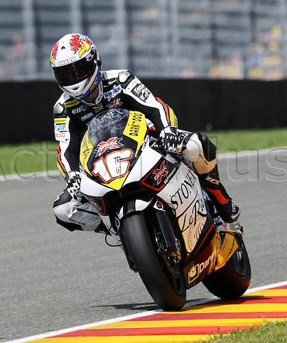 06 06 2010 Jules Cluzel FRA Suter. Moto2 class, 600cc spec Honda eninges in prototype chassis. Gran Premio d'Italia TIM, Mugello circuit, Italy.