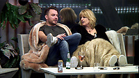 Daniel O'Reilly and Rachel Johnson.<br /> Celebrity Big Brother 2018 - Day 10<br /> *Editorial Use Only*<br /> CAP/KFS<br /> Image supplied by Capital Pictures
