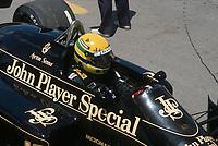 1986 File Photo -  Ayrton Senna at the the Labatt Formula One Grand-Prix  in Montreal