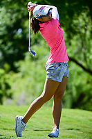 Pannarat Thanapolboonyaras (THA) watches her tee shot on 13 during round 1 of  the Volunteers of America Texas Shootout Presented by JTBC, at the Las Colinas Country Club in Irving, Texas, USA. 4/27/2017.<br /> Picture: Golffile | Ken Murray<br /> <br /> <br /> All photo usage must carry mandatory copyright credit (&copy; Golffile | Ken Murray)
