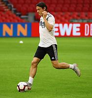 Nico Schulz (Deutschland Germany) - 12.10.2018: Abschlusstraining der Deutschen Nationalmannschaft vor dem UEFA Nations League Spiel gegen die Niederlande