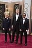 Glenn Freemantle, Christopher Benstead and Niv Adiri <br /> 86TH OSCARS<br /> The Annual Academy Awards at the Dolby Theatre, Hollywood, Los Angeles<br /> Mandatory Photo Credit: &copy;Dias/Newspix International<br /> <br /> **ALL FEES PAYABLE TO: &quot;NEWSPIX INTERNATIONAL&quot;**<br /> <br /> PHOTO CREDIT MANDATORY!!: NEWSPIX INTERNATIONAL(Failure to credit will incur a surcharge of 100% of reproduction fees)<br /> <br /> IMMEDIATE CONFIRMATION OF USAGE REQUIRED:<br /> Newspix International, 31 Chinnery Hill, Bishop's Stortford, ENGLAND CM23 3PS<br /> Tel:+441279 324672  ; Fax: +441279656877<br /> Mobile:  0777568 1153<br /> e-mail: info@newspixinternational.co.uk