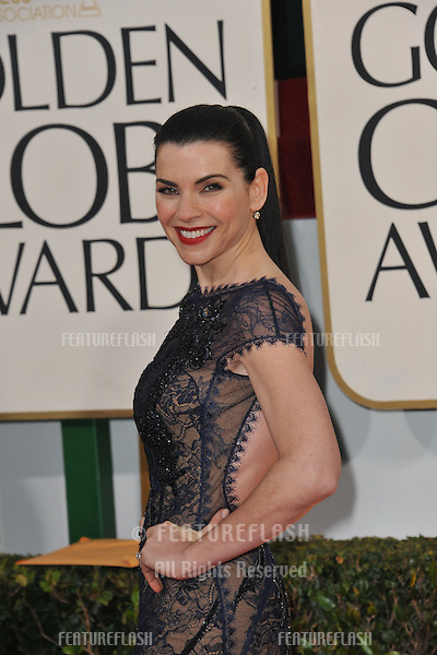 Julianna Margulies at the 70th Golden Globe Awards at the Beverly Hilton Hotel..January 13, 2013  Beverly Hills, CA.Picture: Paul Smith / Featureflash