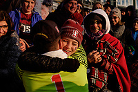 Chester, PA - Sunday December 10, 2017: Nico Corti, fans Stanford University defeated Indiana University 1-0 in double overtime during the NCAA 2017 Men's College Cup championship match at Talen Energy Stadium.