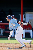 Kris Bryant #23 of the University of San Diego Toreros bats against the Cal State Northridge Matadors at Matador Field on March 26, 2013 in Northridge, California. (Larry Goren/Four Seam Images)