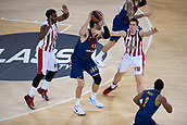 3rd November 2017, Palau Blaugrana, Barcelona, Spain; Turkish Airlines Euroleague Basketball, FC Barcelona Lassa versus Olympiacos Piraeus;  44 TOMIC, ANTE of FC Barcelona Lassa in action during the match of round 5 of regular season in the 2017/2018 Turkish Airlines EuroLeague