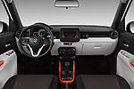 Stock photo of straight dashboard view of 2017 Suzuki Ignis GL 5 Door Hatchback Dashboard