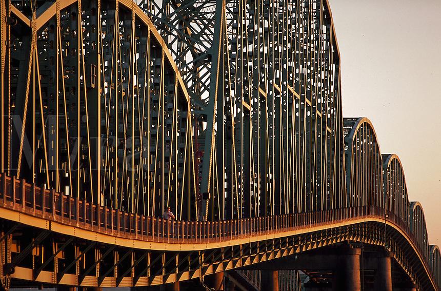 Interstate Bridge over Columbia River, Portland, Oregon