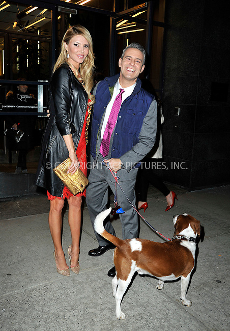 WWW.ACEPIXS.COM<br /> <br /> March 23 2015, New York City<br /> <br /> Brandi Glanville and host Andy Cohen leave a taping of 'Watch What Happens Live' on March 23 2015 in New York City<br /> <br /> By Line: Curtis Means/ACE Pictures<br /> <br /> <br /> ACE Pictures, Inc.<br /> tel: 646 769 0430<br /> Email: info@acepixs.com<br /> www.acepixs.com