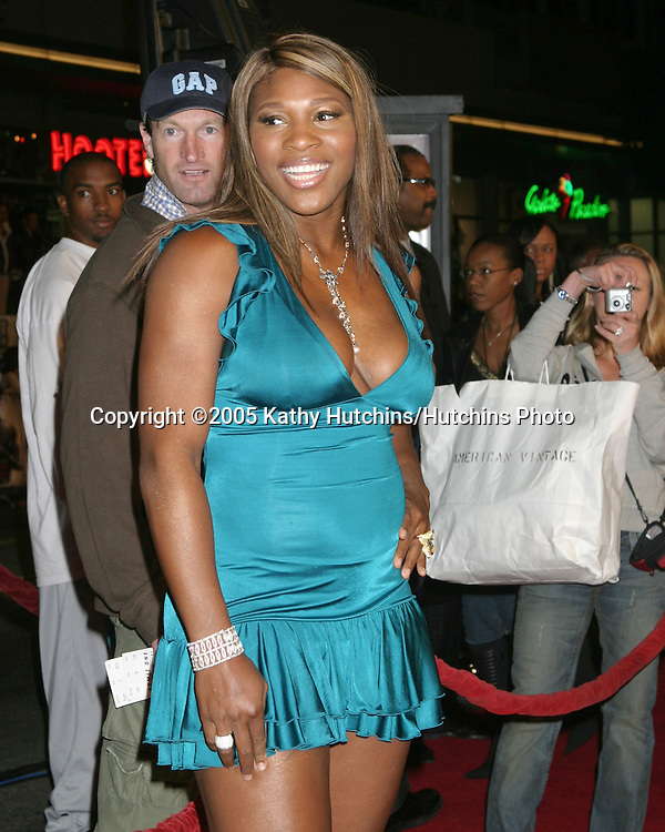 Serena Williams.Get Rich or Die Trying Premiere.Grauman's Chinese Theater.Los Angeles, CA.November 2, 2005.©2005 Kathy Hutchins / Hutchins Photo