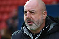 Rochdale manager Keith Hill during the Sky Bet League 1 match between Rochdale and Walsall at Spotland Stadium, Rochdale, England on 23 December 2017. Photo by Juel Miah / PRiME Media Images.