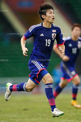 Yuta Toyokawa (JPN), MARCH 29, 2015 - Football / Soccer : AFC U-23 Championship 2016 Qualification Group I match between U-22 Japan 2-0 U-22 Vietnam at Shah Alam Stadium in Shah Alam, Malaysia. (Photo by Sho Tamura/AFLO SPORT)