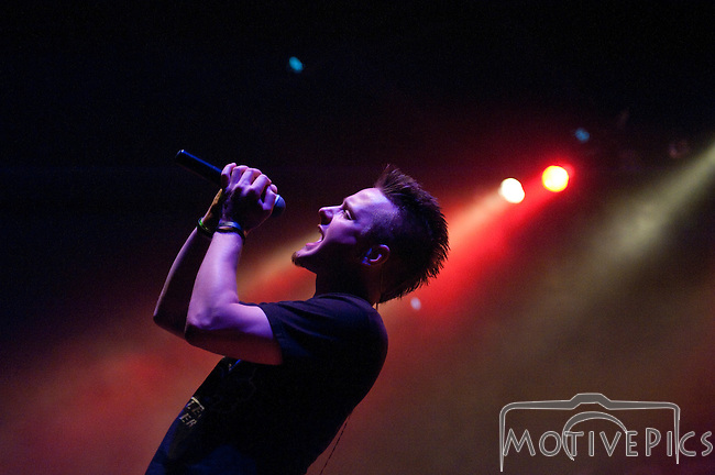 Corvus opening for Blue October and Staind at The Pageant for 105.7 The Point Ho Ho Show #2, December 2011.